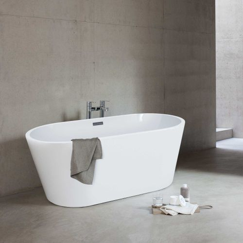 Relax White Freestanding Baths by VCBC