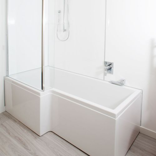 Square Shower Bath by VCBC