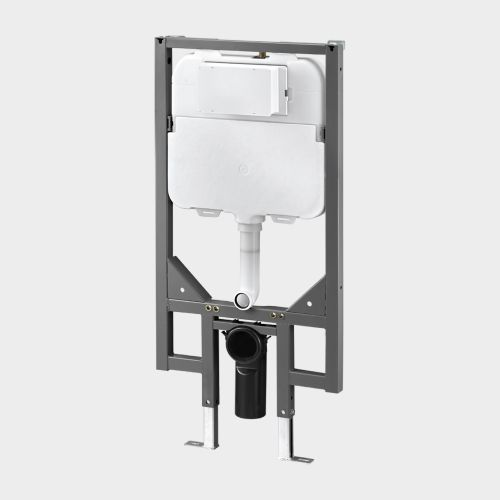 In-Wall Toilet Cistern with Steel Frame by VCBC