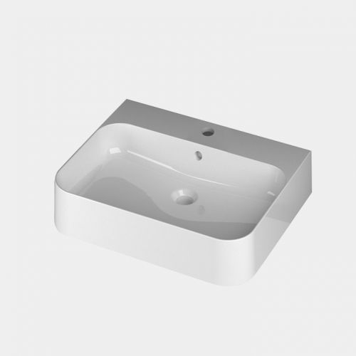 Slim 600 Counter Top/Wall-Hung Basin by Michel Cesar