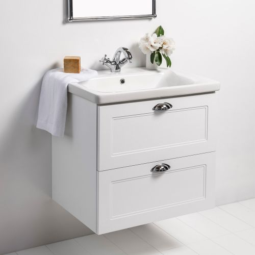 Soft Classic 650 Wall-Hung Vanity by VCBC