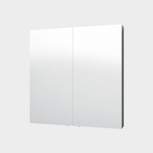 Mirror Unit, 750. 2 Doors, 2 Shelves. white by VCBC