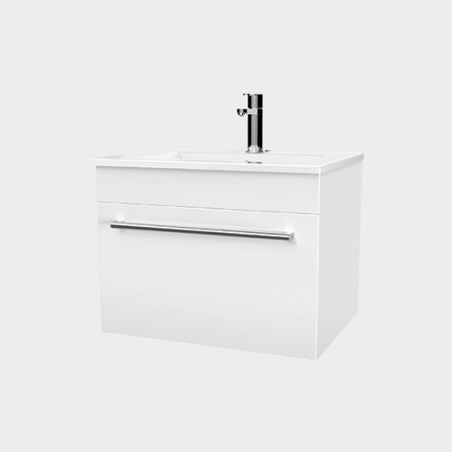 Zara 600 Wall-Hung Vanity 1 Drawer by VCBC