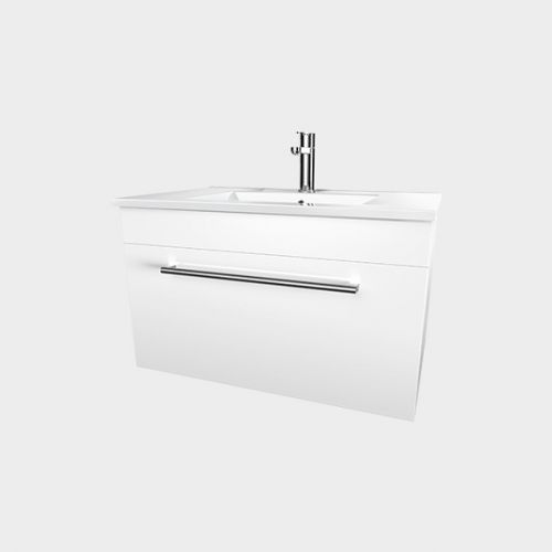 Zara 750 Wall-Hung Vanity 1 Drawer by VCBC