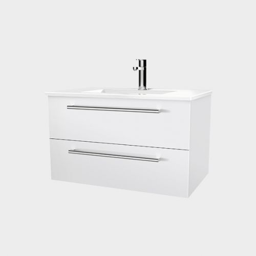 Zara 750 Wall-Hung Vanity 2 Drawers by VCBC