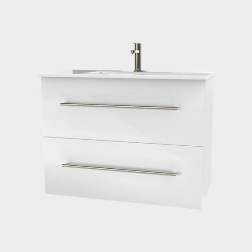 Zara 900 Wall-Hung Vanity 2 Drawers Extra Deep by VCBC