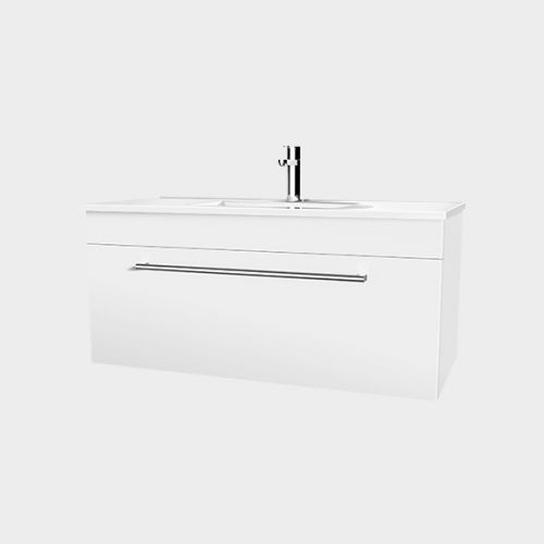 Zara 1200 Wall-Hung Vanity 1 Drawer by VCBC