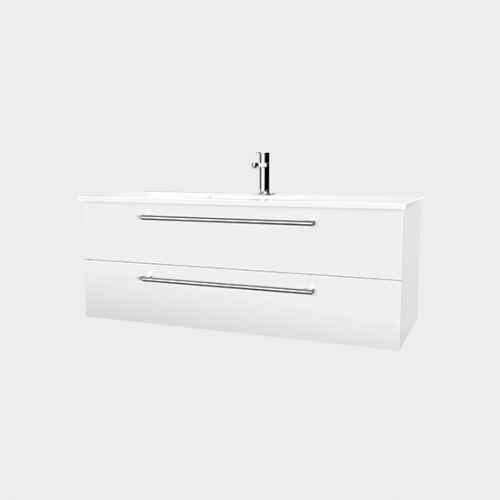 Zara 1200 Wall-Hung Vanity 2 Drawers by VCBC