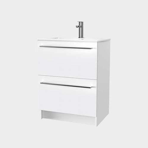 Zara 600 Floor-Standing Vanity 2 Drawers by VCBC