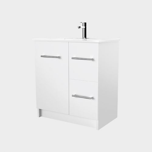 Zara 750 Floor-Standing Vanity 1 Door 2 Drawers by VCBC