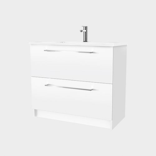 Zara 900 Floor-Standing Vanity 2 Drawers by VCBC