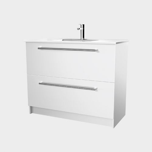 Zara 1000 Floor-Standing Vanity 2 Drawers by VCBC