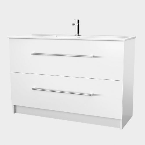 Zara 1200 Floor-Standing Vanity 2 Drawers by VCBC