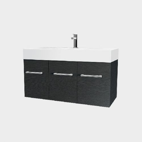 Splash 900 Wall-Hung Vanity 2 Doors 1 Drawer by VCBC