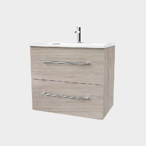 Fresh 750 Wall-Hung Vanity 2 Drawers Extra Deep by VCBC