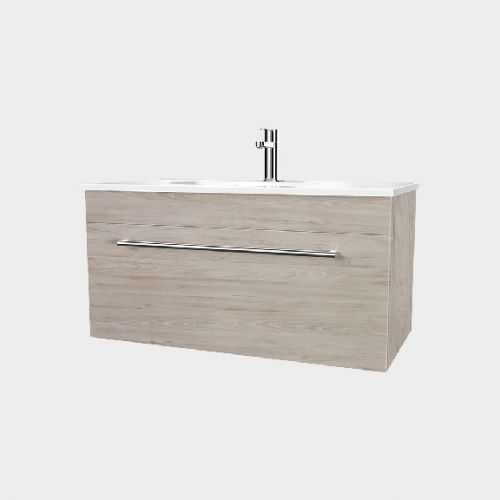 Fresh 900 Wall-Hung Vanity 1 Drawer by VCBC