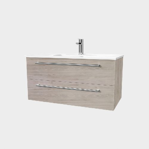 Fresh 900 Wall-Hung Vanity 2 Drawers by VCBC
