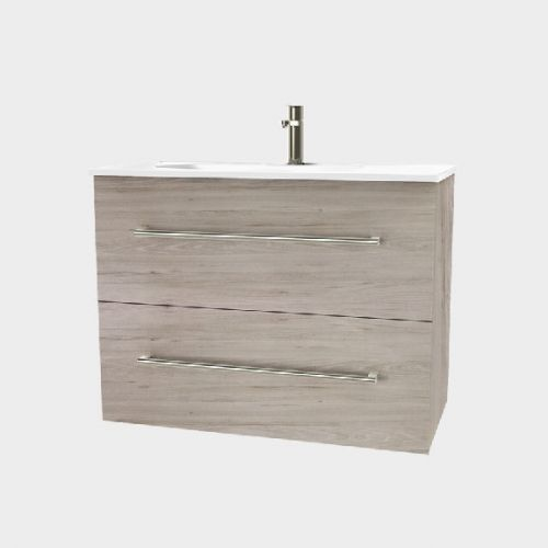 Fresh 900 Wall-Hung Vanity 2 Drawers Extra Deep by VCBC