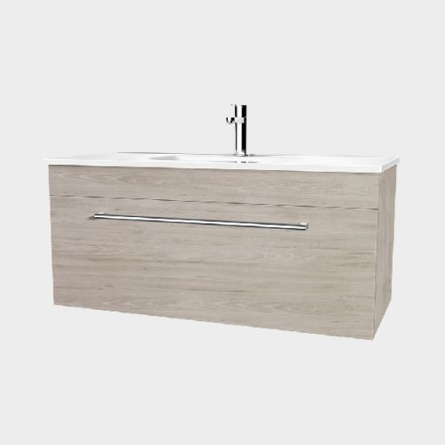 Fresh 1200 Wall-Hung Vanity 1 Drawer by VCBC