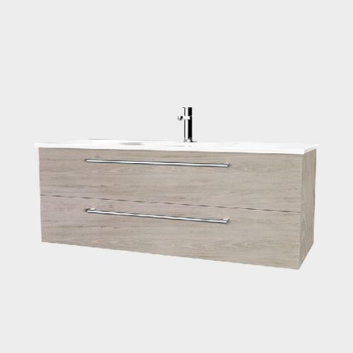 Fresh 1200 Wall-Hung Vanity 2 Drawers by VCBC