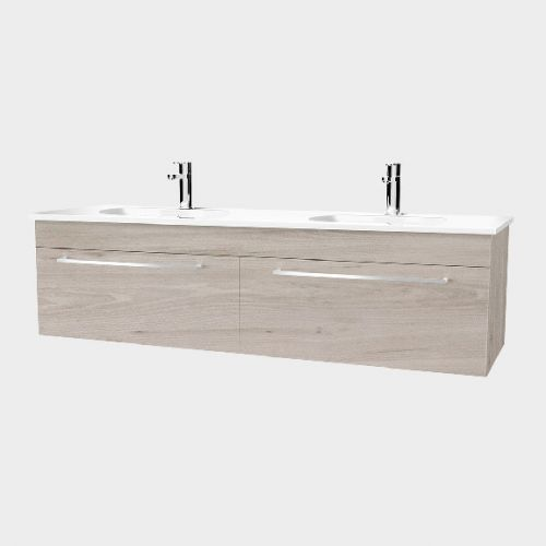 Fresh 1500 Wall-Hung Vanity 2 Drawers Side By Side by VCBC