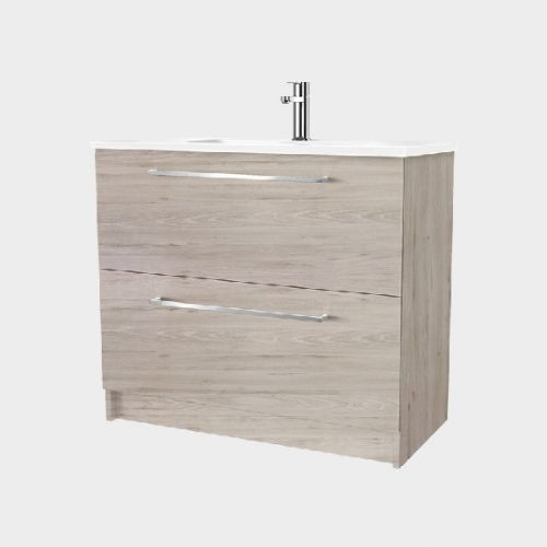 Fresh 900 Floor-Standing Vanity 2 Drawers by VCBC
