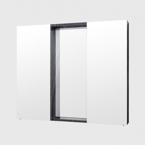 Mirror Unit 900 – 2 Doors, 4 Shelves by Michel Cesar