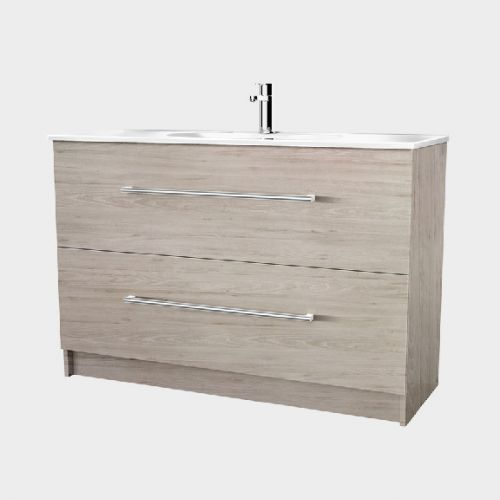 Fresh 1200 Floor-Standing Vanity 2 Drawers by VCBC