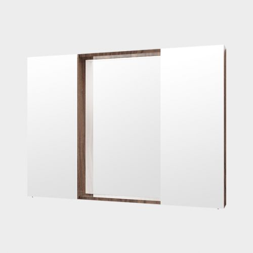 Mirror Unit 1000 – 2 Doors, 4 Shelves by Michel Cesar