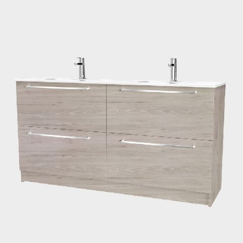 Fresh 1500 Floor-Standing Vanity 4 Drawers by VCBC