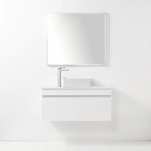 LED Light Mirror Rectangle 900 x 800 by VCBC