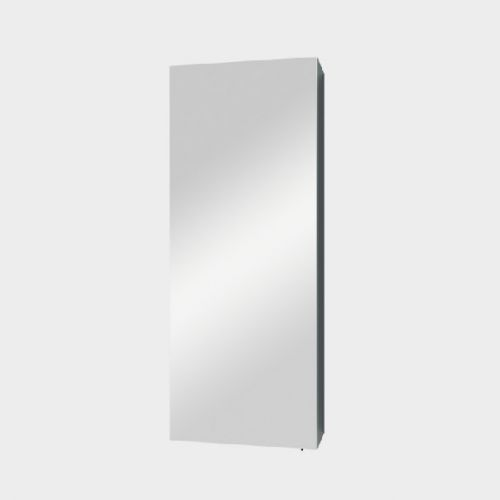 Mirror Unit 300 – 1 Door, 2 Shelves by VCBC