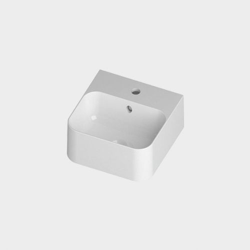 Slim 350 Counter Top/Wall-Hung Basin by Michel Cesar