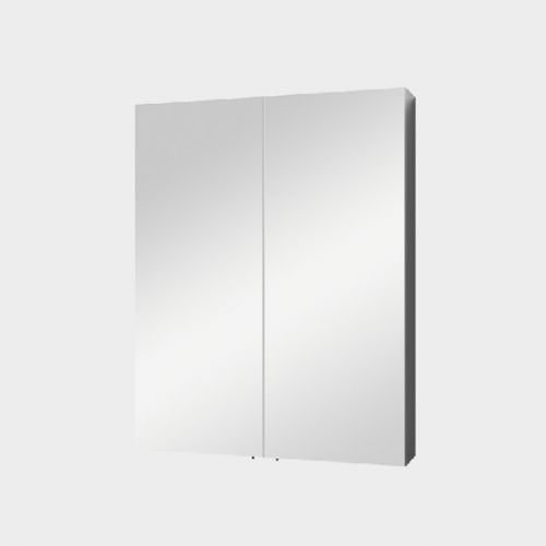 Mirror Unit 600 – 2 Doors, 2 Shelves by VCBC
