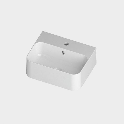 Slim 450 Counter Top/Wall-Hung Basin by Michel Cesar