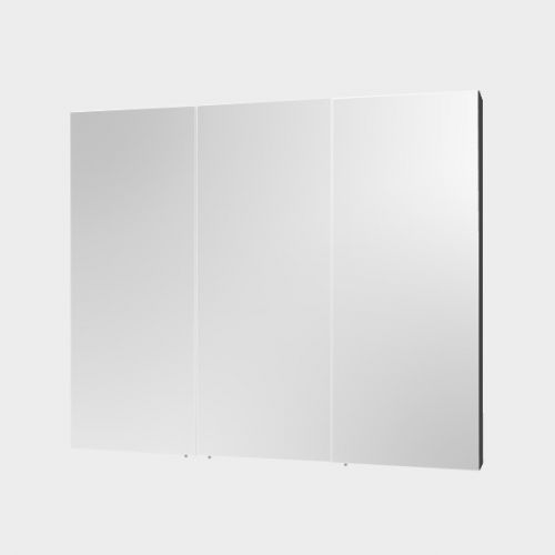 Mirror Unit 900 – 3 Doors, 4 Shelves by VCBC