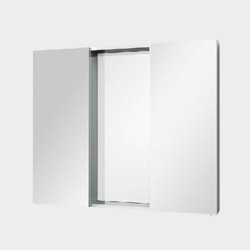 Mirror Unit 900 – 2 Doors, 4 Shelves by VCBC