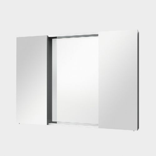 Mirror Unit 1000 – 2 Doors, 4 Shelves by VCBC