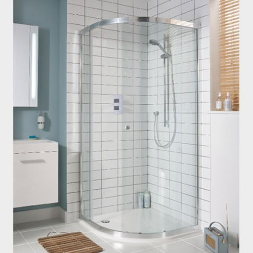 Lucca Quadrant Sliding Shower by VCBC