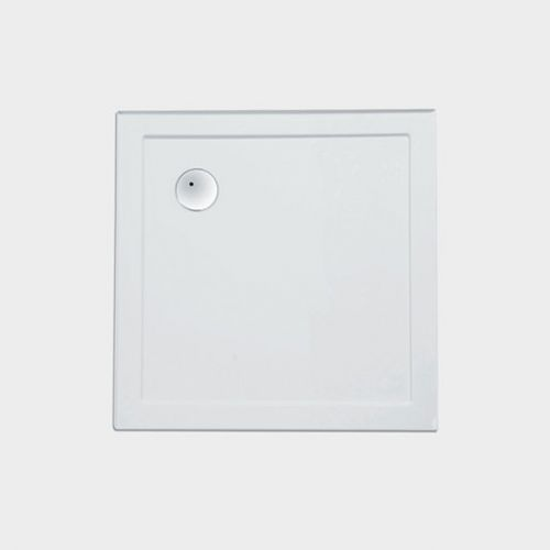 2-Sided Moulded Upstands Shower Tray 910 x 910 by VCBC