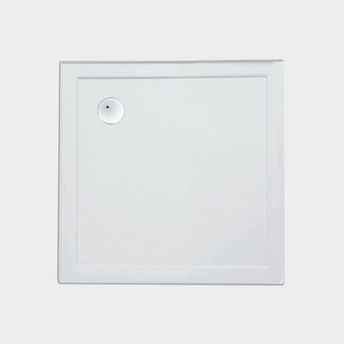2-Sided Moulded Upstands Shower Tray 1010 x 1010 by VCBC