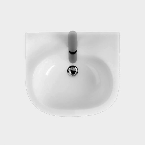 Onda 500 Wall-Hung Basin by VCBC