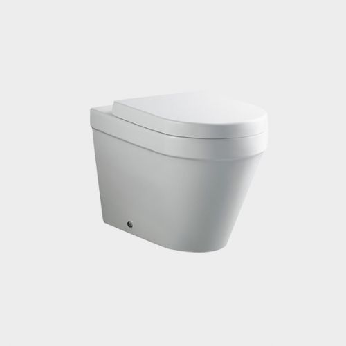 Onda Wall-Faced Toilet Suite with In-Wall Cistern by VCBC