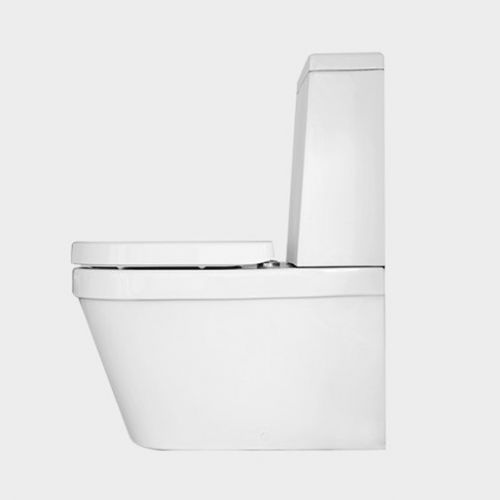 Onda Back-to-Wall Toilet Suite with Cistern by VCBC