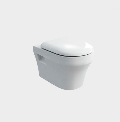 Fine Round Wall-Hung Toilet by VCBC