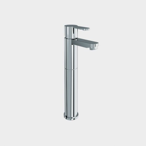 Crystal Extended Single Lever Basin Mixer by VCBC