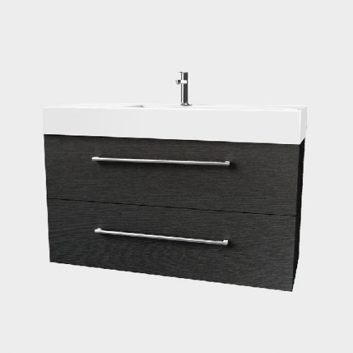 Splash 1200 Wall-Hung Vanity 2 Extra Deep Drawers by VCBC