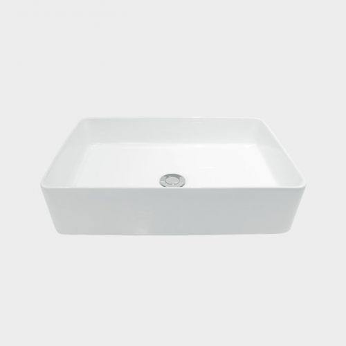Sleek Rectangle Counter Top Basin by Michel Cesar