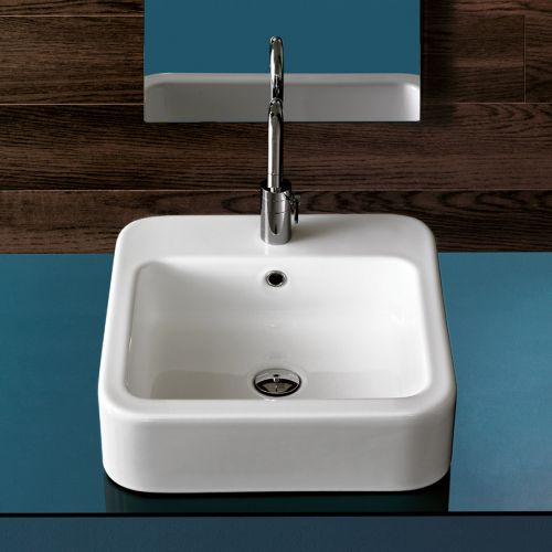 Happy Hour 09:00 Counter Top Basin by Michel Cesar