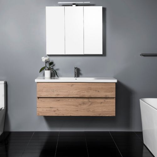 Soft 1200 Wall-Hung Vanity 2 Drawers by VCBC